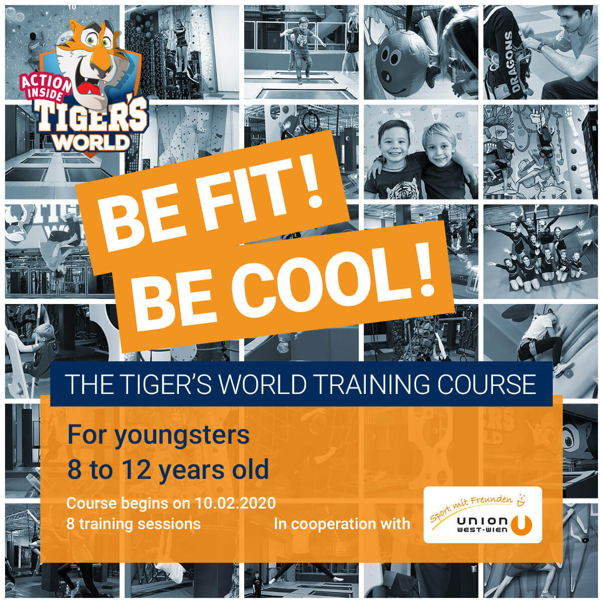 Tiger's World Training for our up-and-comers!